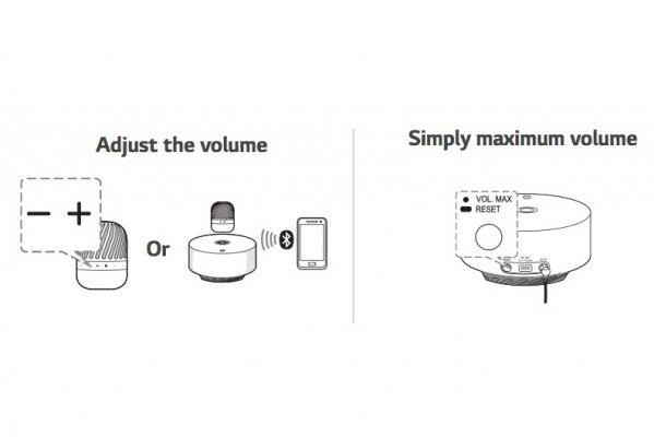 Обзор LG PJ9: играет илевитирует — Функционал и управление. 6