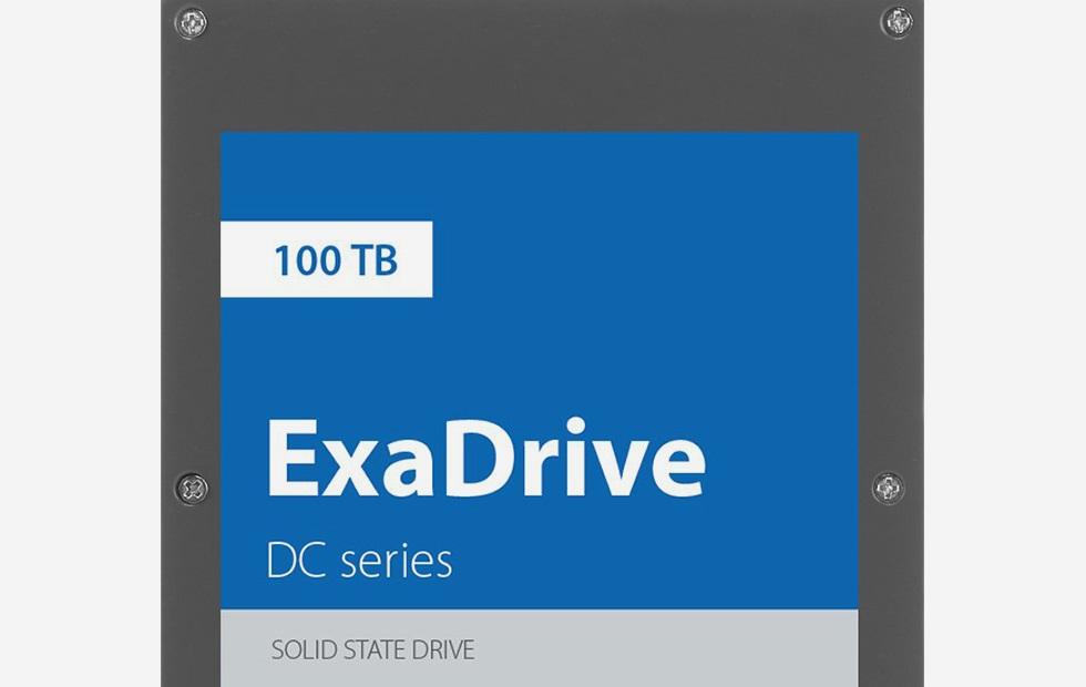 Выпустили SSD на100 Тбайт