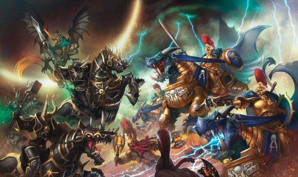 Новая ККИ помотивам вселенной Warhammer оживёт вдополненной реальности