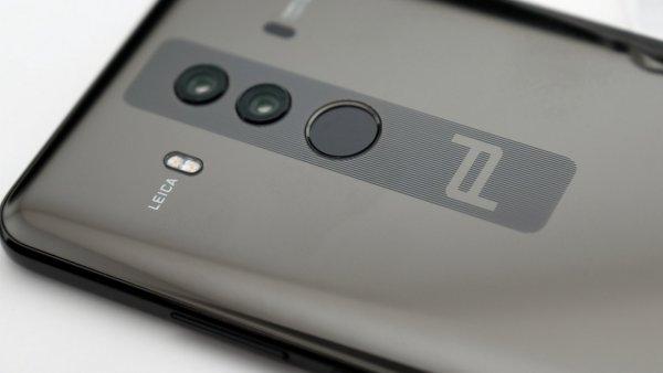 Huawei готовит смартфон с512ГБ памяти