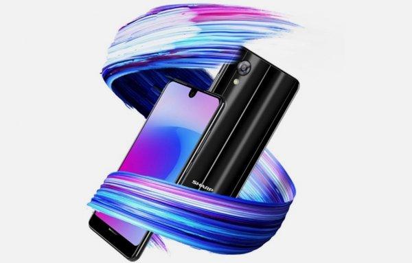 Sharp Aquos S3 Mini— стеклянный безрамочник за$250