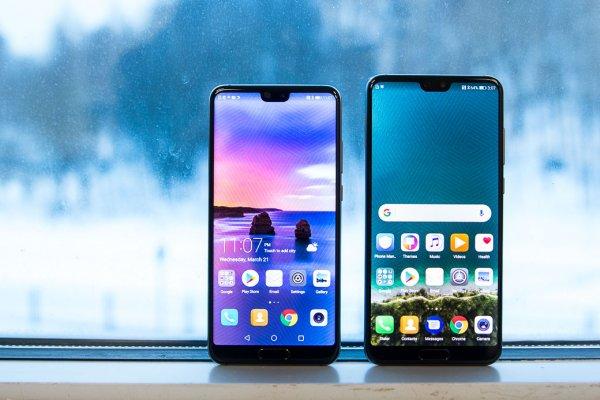 Представлены Huawei P20 иP20 Pro— универсальные фотофлагманы