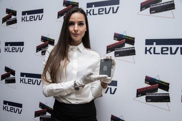 Бренд KLEVV выходит нароссийский рынок