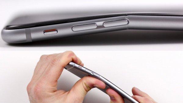 Apple еще довыпуска iPhone 6 и6 Plus знала, что они гнутся