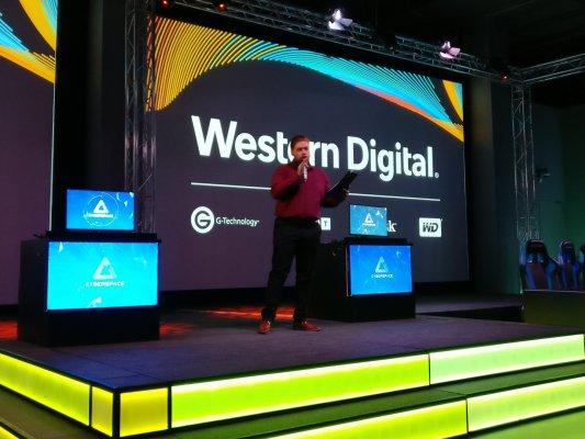 Western Digital презентовала быстрый SSD-накопитель вМоскве