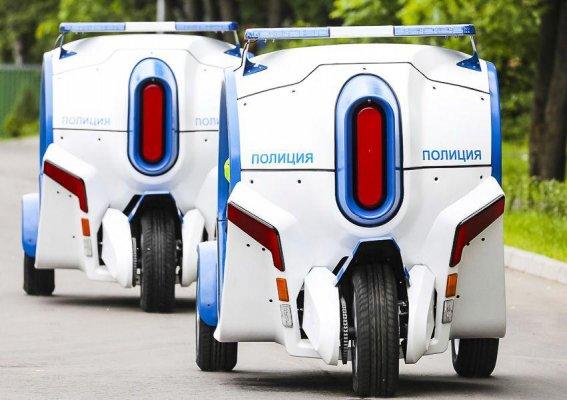 Концерн Калашников представил электромобили иэлектромотоциклы дляполиции Москвы