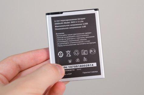 Преступно дешево: сравнительный обзор INOI 2 иINOI 3 Lite — Аккумулятор. 2