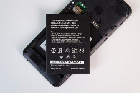 Преступно дешево: сравнительный обзор INOI 2 иINOI 3 Lite — Аккумулятор. 1