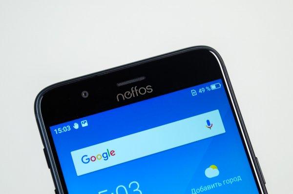 Обзор Neffos N1— неожиданно хорош — Внешний вид. 6