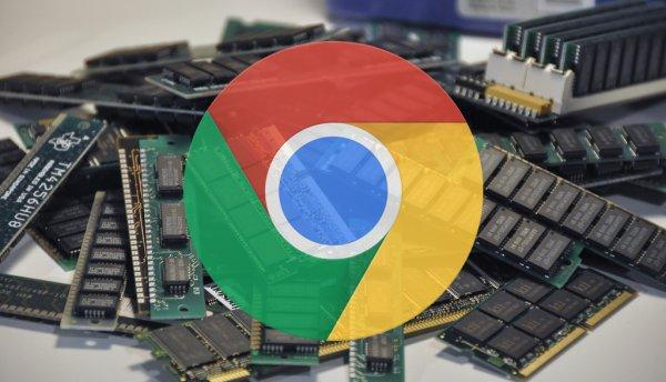 Chrome длякомпьютеров теперь потребляет ещё больше оперативки