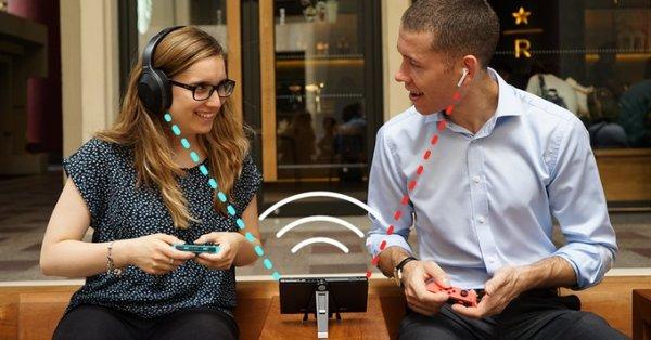 Стартап подружил Bluetooth-наушники сNintendo Switch