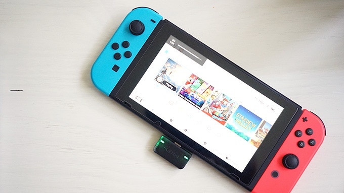 Стартап подружил Bluetooth-наушники с Nintendo Switch