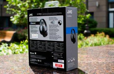 Обзор гарнитуры JVC HA-S70BT-B — Упаковка и комплект поставки. 2