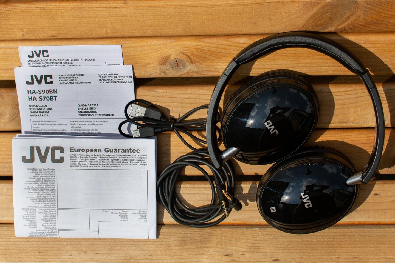 Обзор гарнитуры JVC HA-S70BT-B — Упаковка и комплект поставки. 3 e984a640b4
