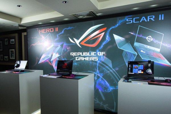 ASUS объявил остарте продаж ноутбуков ROG Strix SCAR II иHero II
