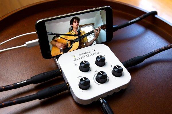Roland представила мини-микшер длясмартфона
