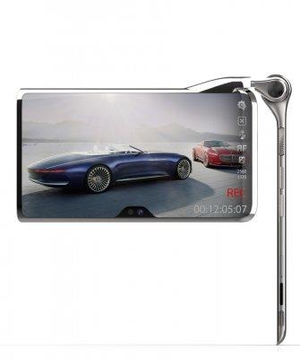 Представлен концепт футуристического смартфона стремя дисплеями