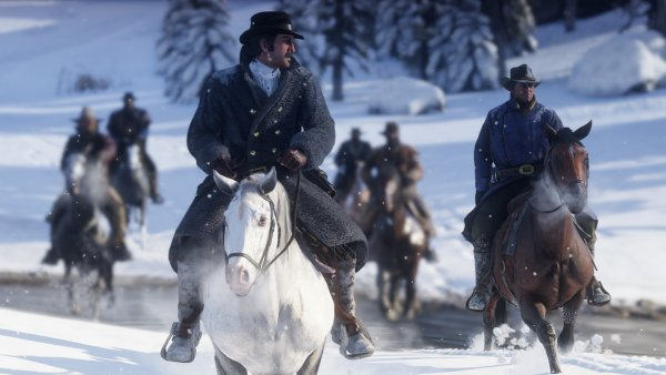 Новый трейлер Red Dead Redemption 2 показывает геймплей игры