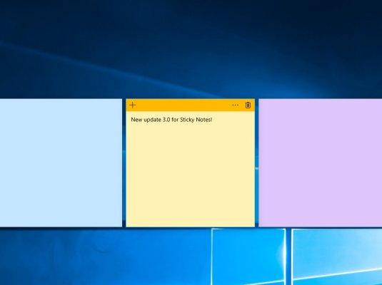 Приложение длязаметок Sticky Notes выйдет запределыWindows 10