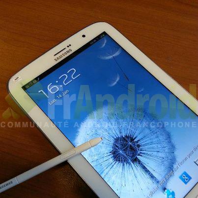Samsung Galaxy Note 8.0 появится в продаже в мае