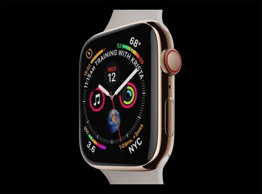 Apple представила Watch Series4— вдвое мощнее, сбольшими экранами исозданием ЭКГ