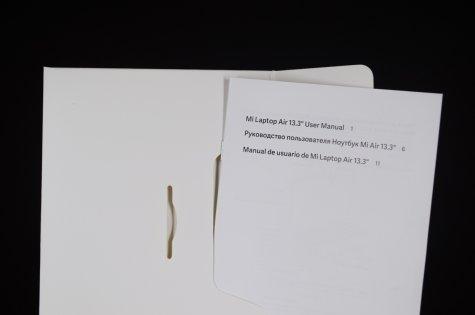 Обзор Xiaomi Mi Notebook Air 13.3 — рабочая машинка — Комплектация. 6