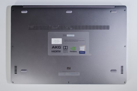 Обзор Xiaomi Mi Notebook Air 13.3 — рабочая машинка — Внешний вид. 4