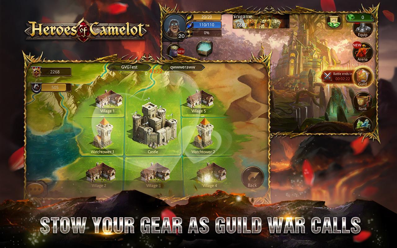 герои камелота игра карточная