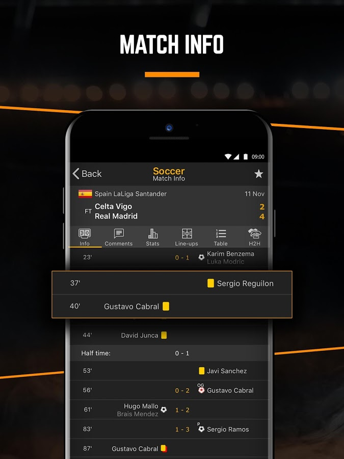 Android Livescore