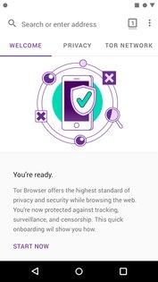 Tor Browser 10.0.15. Скриншот 2