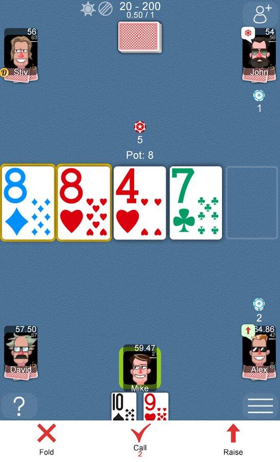 Скачать онлайн покер игру на телефон как играть в карты в переводного