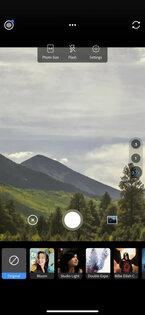 Adobe Photoshop Camera 1.0.41. Скриншот 2