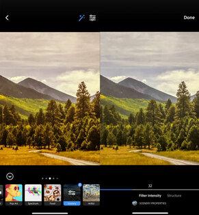 Adobe Photoshop Camera 1.0.41. Скриншот 1