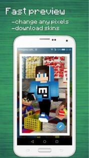 Редактор Скинов для Minecraft PE 4.1.0. Скриншот 5