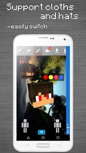Редактор Скинов для Minecraft PE 4.1.0. Скриншот 8