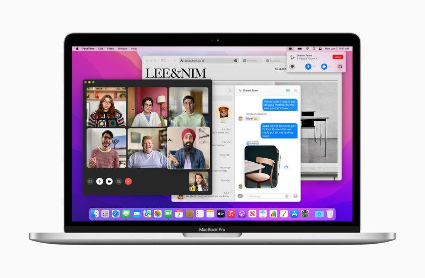 macOS Monterey объединяет работу MacBook, iPad иiMac: что ещё нового