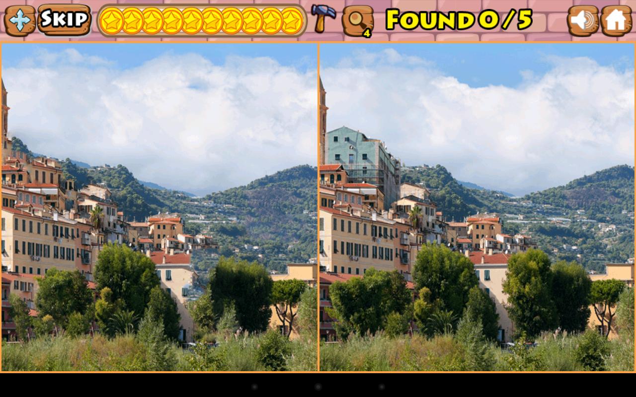 Играть онлайн найти отличия на картинках для детей
