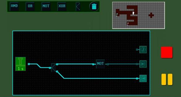 симулятор логических схем,