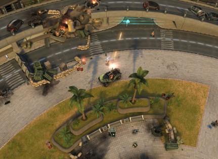 Halo: Spartan Strike. Скриншот 2