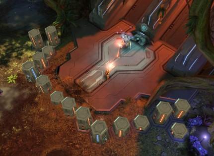 Halo: Spartan Strike. Скриншот 3