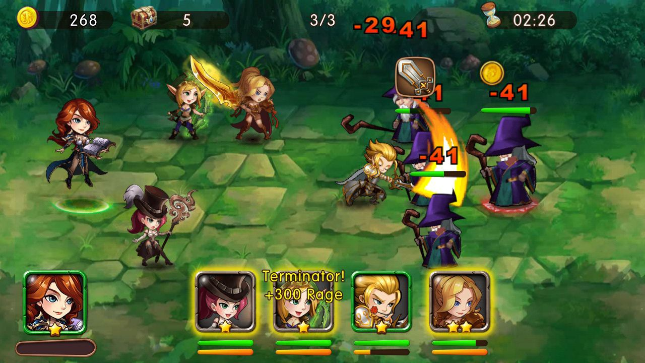 League of angels paradise land android gameplay youtube.