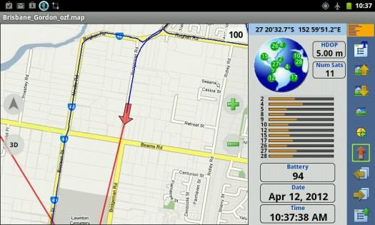 OziExplorer 1.27.0. Скриншот 5