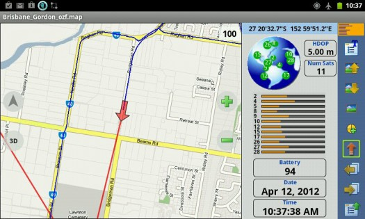 OziExplorer 1.28.0. Скриншот 5