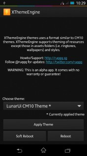XTheme Engine beta 5