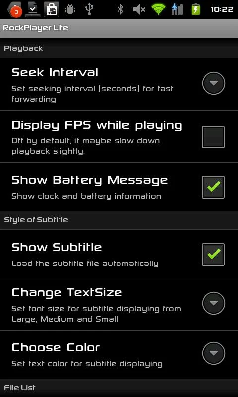 скачать Rockplayer для андроид бесплатно - фото 3