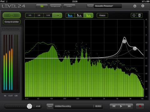 Программу для анализатора спектра звука