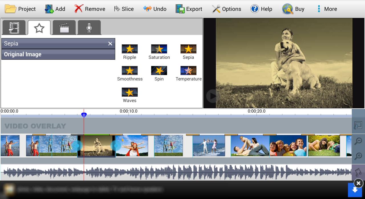 скачать редактор видео на андроид