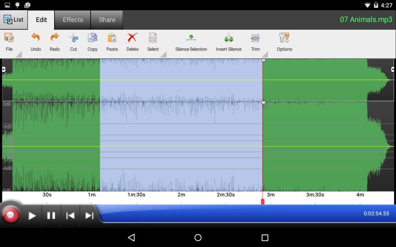 аудиоредактор для андроид - фото 11