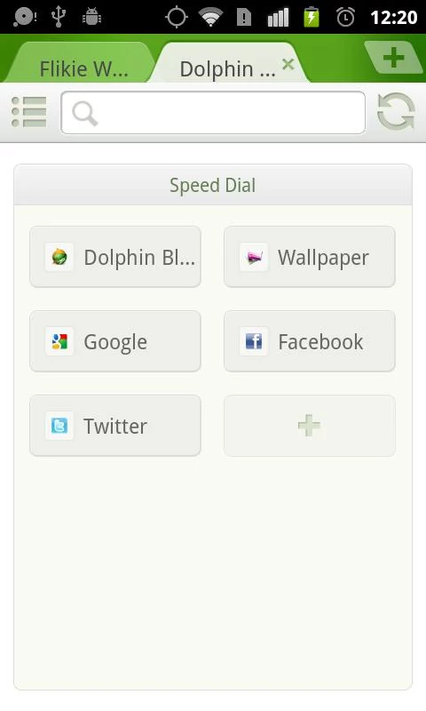 Dolphin browser mini trashbox
