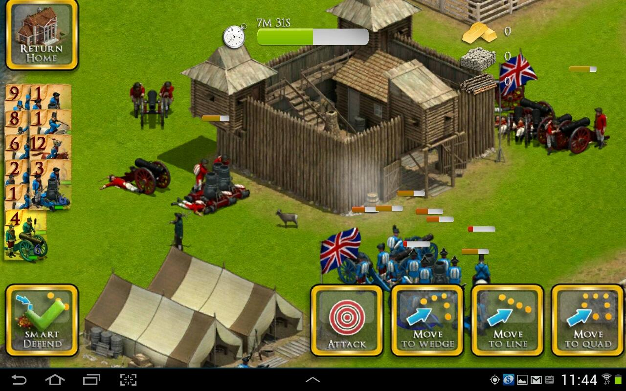 French British Wars Cheats for Android - chaptercheats.com